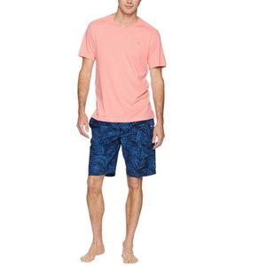 NWT - Tommy Bahama Woven 2 Pc Loungewear Short Set